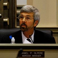 Daniel P. Olpere, Borough Manager