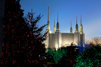 Mormon Temple and Visitor's Center in Washington, DC